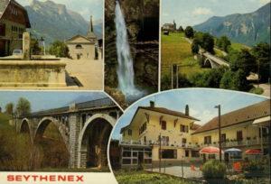 carte postale Seythenex
